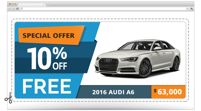 specialized auto coupon