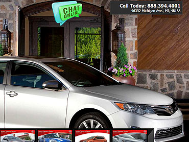Victory Toyota Canton. Franchise Dealers Websites. Fully Responsive ...