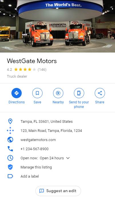 Non-Scary Car Dealer SEO