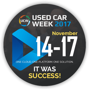 Used Car Week / NRC 2017 with Auction Streaming was a Great Success