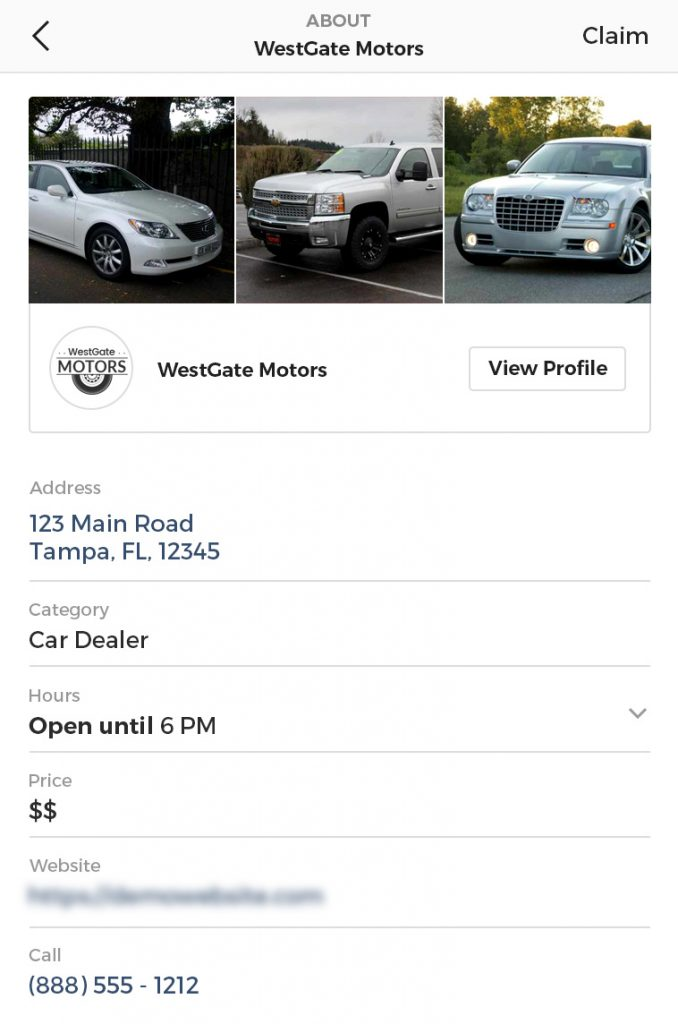 Is Your Dealership Ready for Instagram Local Business Profile Pages?