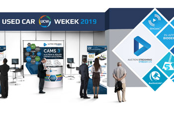 Auction Streaming Will be Exhibiting at the Used Car Week 2019
