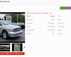 The Most Important Features of the Vehicle Details Page