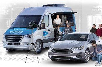Auction-On-Wheels: Fully-Mobile On-Site Auction
