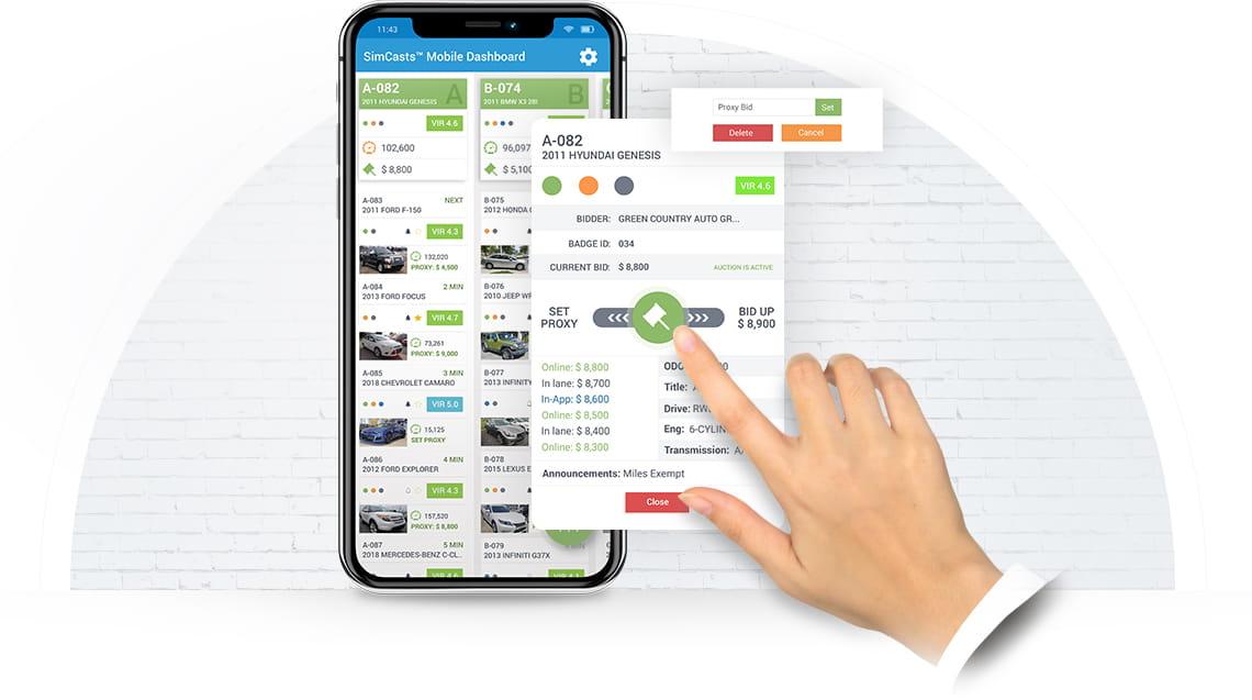 IN-APP Bidder Auto Auction Software